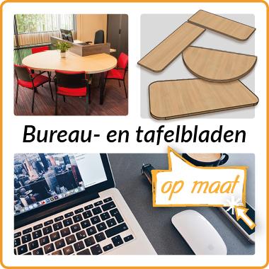 Bureau-/tafelbladen op maat